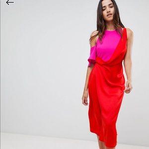 NBW ASOS Color blocked dress